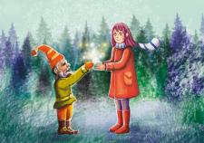 """Иллюстрация для сайта """"Мир Лилу"""""""
