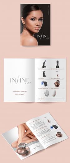 Infini. Дизайн каталога