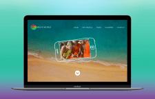 Web-дизайн для туристической компании Bright World