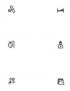 Иконки для приложения/сайта больницы