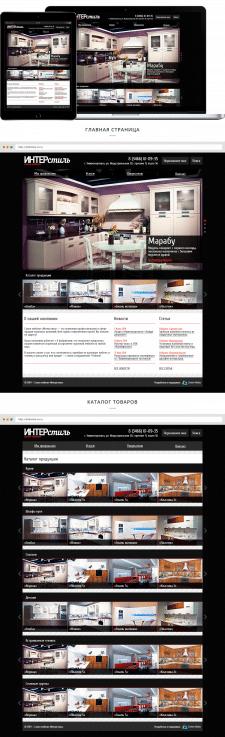 Сайт-каталог мебельного салона