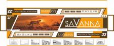 Дизайн упаковки Savanna
