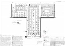 Дизайн проект салона мужской одежды