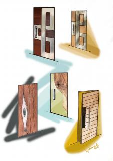 Эскиз дверей