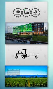 Презентационный сайт визитка
