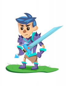 Knight for 2D game