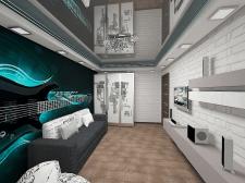 4х комнатная квартира на ул.Глушко,подростковая