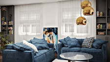 Дизайн интерьера частного дома в Чернигове