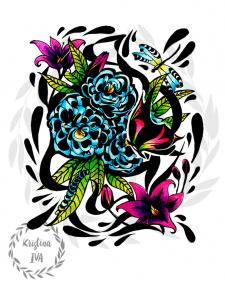 Иллюстрация (handmade)
