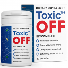 БАД - Toxic Off Detox Supplement
