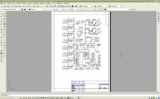 Схема в AutoCAD