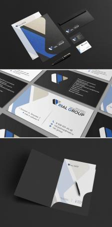 Rial Group - логотип и элементы фирменного стиля