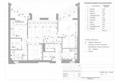 План размещения потолочного освещения