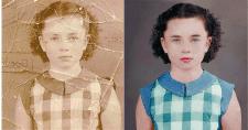 Реставрация и раскрашивание старых фото