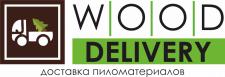 "Логотип доставки пиломатериалов ""Wood Delivery"""