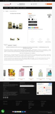 Описание парфюма