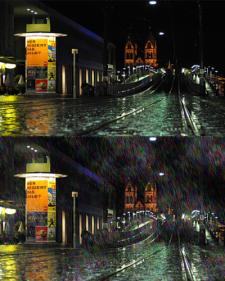 Эффект дождя
