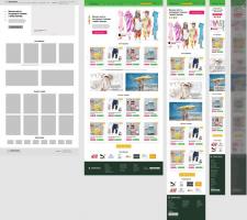 Дизайн сайту в Figma