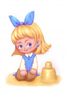 Детская иллюстрация в CG