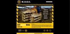 Разработка дизайна для сайта N.E.R.D.S.