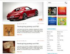 Шаблон блога для WordPress
