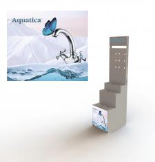 """Выставочный стенд для ТМ """"Aquatica"""""""