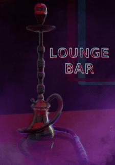 рекламный плакат lounge bar