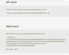 Настройка цифровых подписей почты DKIM, SPF