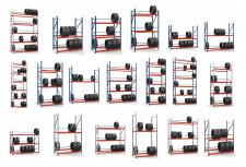 Моделирование и рендер стеллажей
