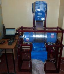 Аэродинамический сепаратор семян тыквы