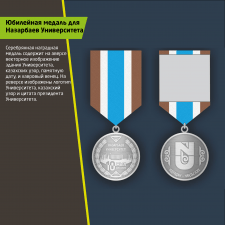 Дизайн медалей для юбилея университета