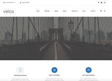 Velox web-site template