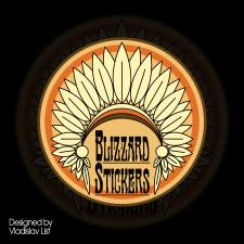 Лого для стикершопа
