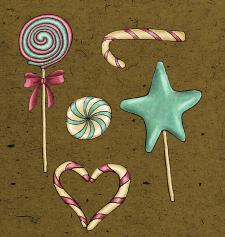 новорічні солодощі
