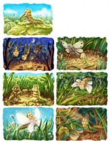 Книжка про гусеницю