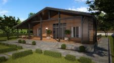 Деревяный дом 1