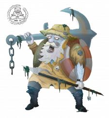 Векторный Рыбак