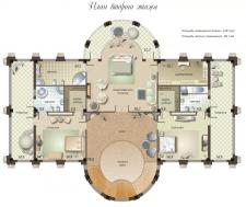 Классический интерьер в квартире 110m2