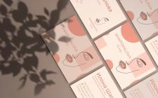 Логотип и визитка для салона красоты