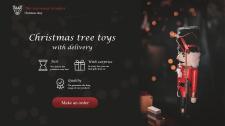 Christmas Toys ad banner