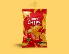 Дизайн упаковки для компании чипсов