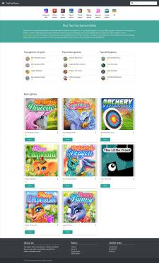 Сайт с HTML5 играми