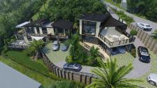 Проект современных домов в Новой Зеландии