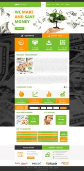 Сайт компания Save Money (разработка дизайна)