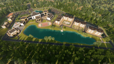 Анимационная презентация проекта кампуса