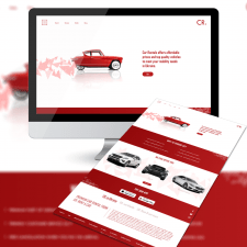 Car Rental (Logo + LP)