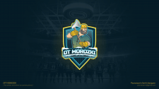 Logo design for ice arenas and ice constructions