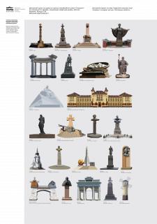 Векторная графика, отрисовка памятников архитектур