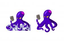 Логотип-маскот для игрового сервера
