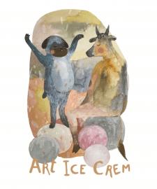 Арт мороженое